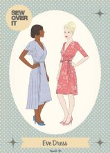 Vintage Inspired 'Eve' Wrap Dress Pattern